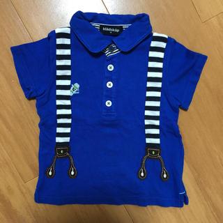 クレードスコープ サスペンダー風 ポロシャツ 半袖 90
