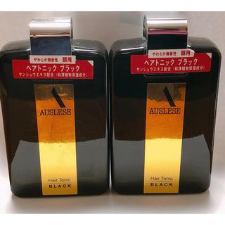 アウスレーゼ(AUSLESE)のアウスレーゼ ヘアトニック ブラック 2本セット(ヘアケア)