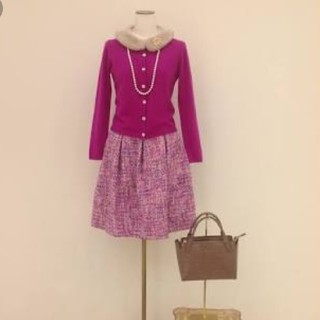 トッカ(TOCCA)の極美品♡tocca♡sugar tweed スカート(ひざ丈スカート)