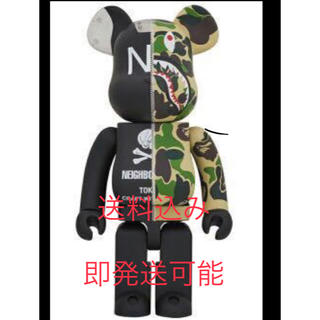 MEDICOM TOY - BAPE  × NEIGHBORHOOD BE@RBRICK 1000%