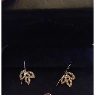 ハリーウィンストン(HARRY WINSTON)のHarry Winston Lily Cluster Earrings USED(ピアス)