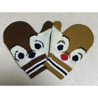 ディズニー(Disney)のディズニー チップとデール ミトン 手袋(手袋)