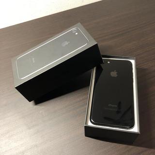 Apple - SIMフリー iPhone7 128GB ジェットブラック