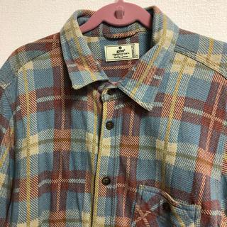 ジーアールエヌ(grn)の【新品未使用】grnチェックシャツ(シャツ/ブラウス(長袖/七分))