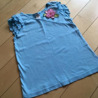 ジンボリー(GYMBOREE)のジンボリー 9T 140 フリル袖 カットソー(Tシャツ/カットソー)