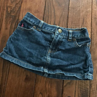 ポロラルフローレン(POLO RALPH LAUREN)のまひちゃま専用★Polo Ralph Lauren デニムのミニスカート 80(スカート)