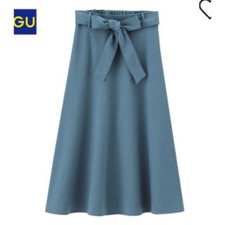 GU - ミモレ丈ブルースカート