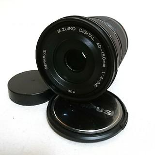 オリンパス(OLYMPUS)のOLYMPUS PEN PL 40-150mm 望遠レンズ 黒(レンズ(ズーム))