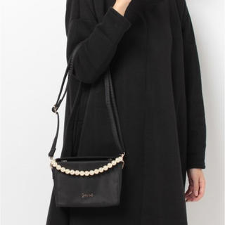 サミールナスリ(SMIR NASLI)の新品♡タグ付き♪サミールナスリ 2way サテンバッグ♡ブラック (ショルダーバッグ)
