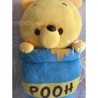 クマノプーサン(くまのプーさん)の新品未開封 ☆ くまのプーさん ハニーポットぬいぐるみ honey pooh(ぬいぐるみ)