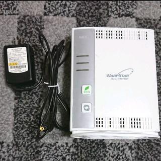 エヌイーシー(NEC)の【NEC】WiFiルーター*(無線/有線)*ブロードバンドルーター(PC周辺機器)