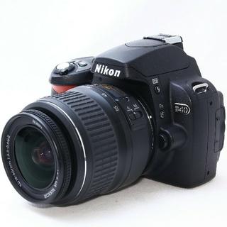 Nikon - 【美品】超初心者向け一眼レフニコンD40❤️メーカー正規品❤️