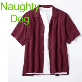 ノーティー(Naughty)の定価4309円 新品 Naughty Dog シャツ Tシャツ ノーティードッグ(シャツ)