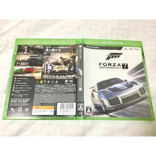 エックスボックス(Xbox)の美品! Forza Motorsport7 Xbox独占 4K HDR(家庭用ゲームソフト)