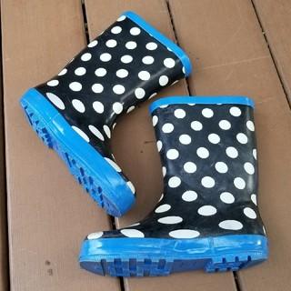 21㎝子供靴。長靴 中古です。  サイズアウトのため  子供靴出品いたします。 (長靴/レインシューズ)