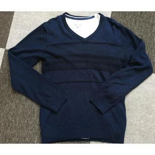 ニコル(NICOLE)のNICOLE selection ニコル インナーシャツ付き ニット 46(ニット/セーター)