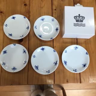 ROYAL COPENHAGEN - 【新品箱付】ロイヤルコペンハーゲンブルーパルメッテブロッサム皿5枚