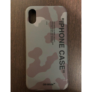 【直営店購入正規品】off-white iPhone x xs ケース