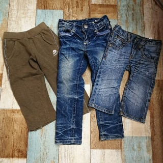 ニューヨークパパ(NEW YORK PAPA)の子供服 パンツ 3点セット 男の子 110サイズ ビーツ ニューヨークパパ(パンツ/スパッツ)