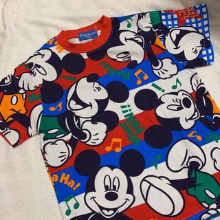 ディズニー(Disney)の【新品】東京ディズニーリゾート ミッキーTシャツ130(Tシャツ/カットソー)