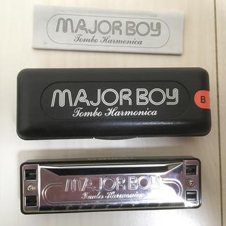 ハーモニカ TOMBO MAJORBOY  Key:B(ハーモニカ/ブルースハープ)