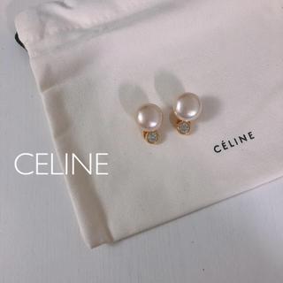セリーヌ(celine)のMigi様専用【人気】CELINE パールイヤリングゴールド ヴィンテージ(イヤリング)