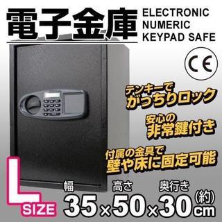 新品★電子金庫 テンキー デジタル A82C-k(その他)