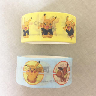ポケモン(ポケモン)の【未使用】ポケモン&くら寿司 マスキングテープ 2個セット(キャラクターグッズ)