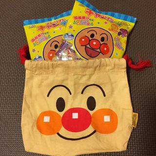 アンパンマン(アンパンマン)のアンパンマンキャンディ2袋&巾着セット(菓子/デザート)