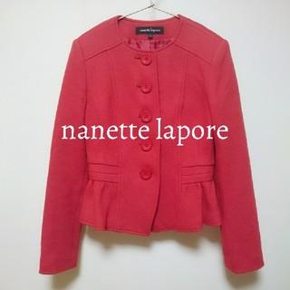 ナネットレポー(Nanette Lepore)のnanette lapore ウールジャケット(ノーカラージャケット)
