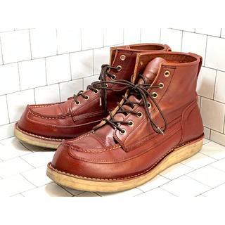 ダナー(Danner)のDANNER ダナー ブーツ メンズ 約28cm レッド 赤系 本革 カジュアル(ブーツ)