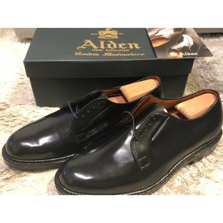 オールデン(Alden)のALDEN オールデン コードバン 9901 9D ブラック プレーントゥ(ドレス/ビジネス)