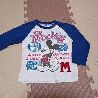 ディズニー(Disney)の90cm ミッキー ロンT(Tシャツ/カットソー)