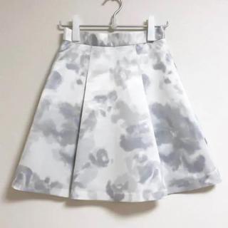 PROPORTION BODY DRESSING - プロポーションボディドレッシング☆水彩風Aラインスカート