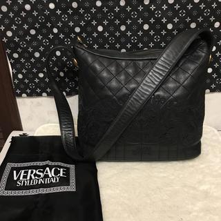 ジャンニヴェルサーチ(Gianni Versace)の▪️美品▪️ジャンニヴェルサーチ ヴィンテージ レザー ショルダーバッグ(ショルダーバッグ)