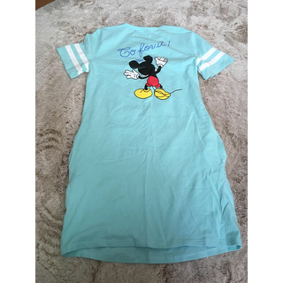 ディズニー(Disney)のミッキー♡Tシャツワンピース(ミニワンピース)
