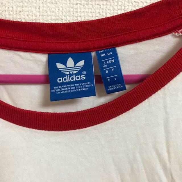 adidas(アディダス)のadidas♡アディダス♡ラグラン♡ロンT♡ロングTシャツ♡ メンズのトップス(Tシャツ/カットソー(七分/長袖))の商品写真