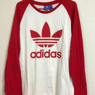 アディダス(adidas)のadidas♡アディダス♡ラグラン♡ロンT♡ロングTシャツ♡(Tシャツ/カットソー(七分/長袖))
