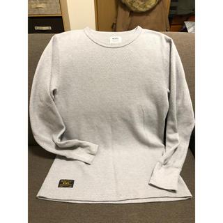ダブルタップス(W)taps)のWTAPS  ワッフルTシャツ グレー M(Tシャツ/カットソー(七分/長袖))