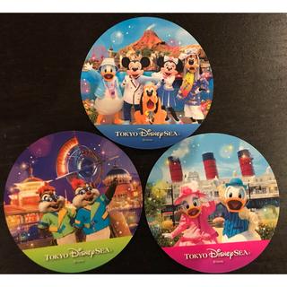 ディズニー(Disney)の新品未使用 非売品 JCBスペシャルナイト シール3枚(シール)