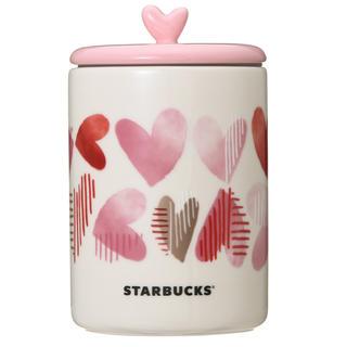 Starbucks Coffee - スターバックス ❤︎バレンタイン キャニスター❤︎新品❤︎ハート キャニスター