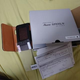 エヌイーシー(NEC)のMR05LN クレードル&ケース&新品フィルムセット(PC周辺機器)