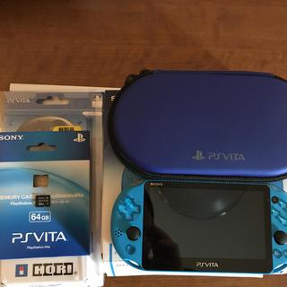 PlayStation Vita - PSVITA PCH-2000ZA23 メモリーカード 64GB