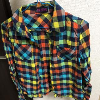 アビラピンク(AVIRA PINK)のAVIRAPINK  チェックシャツ(シャツ/ブラウス(長袖/七分))