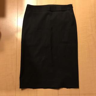 セオリー(theory)の未使用 theory ウエストリボン ダブルスリット スカート スーツ(ひざ丈スカート)