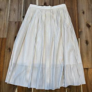イーブス(YEVS)のYEVS レザースカート サイズS(ひざ丈スカート)