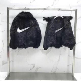 アンブッシュ(AMBUSH)のNike x Ambush Fur Coat アンブッシュ ファー ジャケット(毛皮/ファーコート)
