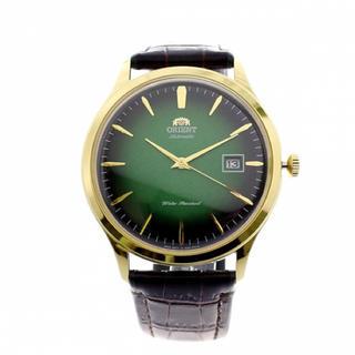 オリエント(ORIENT)のオリエント ORIENT 腕時計 メンズ 自動巻き グリーン ダークブラウン(腕時計(アナログ))