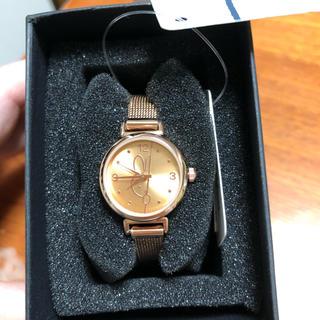 インデックス(INDEX)のミッフィー メタルメッシュ腕時計 ピンクゴールド index miffy (腕時計)