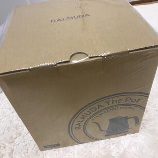 バルミューダ(BALMUDA)の新品 未開封 バルミューダ ポット 新品 BALMUDA thepot(電気ケトル)